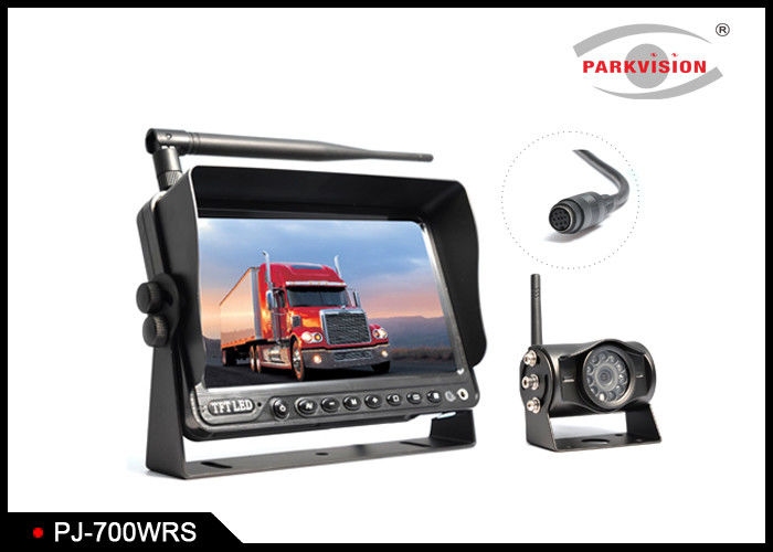 RGB 800 × 480 Pixel Bus Monitoring System , Wireless Backup Camera With Monitor