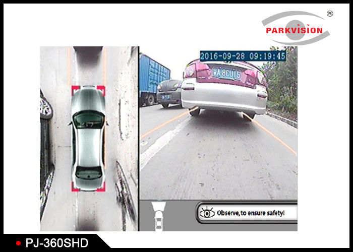 HD 720P 360 Degree Car Camera System Starlight Version With 72dB Dynamic Range