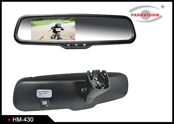 480 X 272 Resolution Night Vision Rear View Mirror With Clip On Bracket Mounting